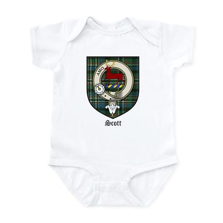 Scott Clan Crest Tartan Infant Bodysuit