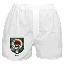 Scott Clan Crest Tartan Boxer Shorts