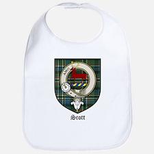 Scott Clan Crest Tartan Bib
