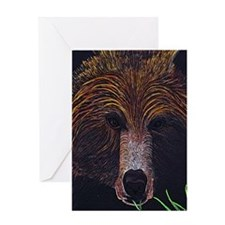 bear-journal Greeting Card