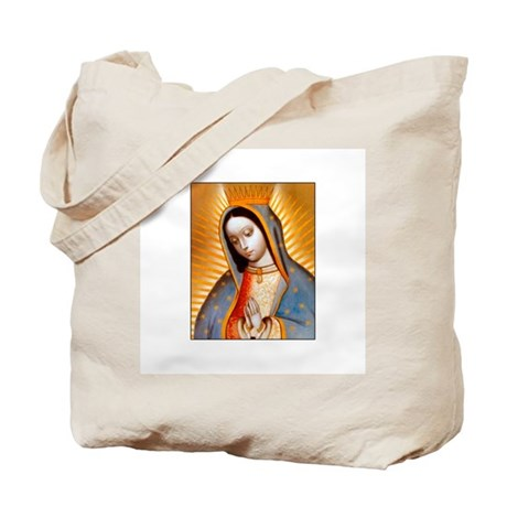 virgen de guadalupe patrone tote bag by bluesanctuary. Black Bedroom Furniture Sets. Home Design Ideas