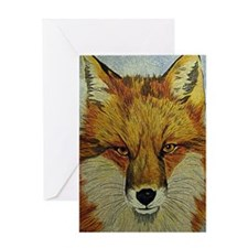 fox journal Greeting Card