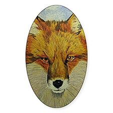 fox journal Decal