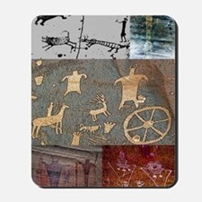 utah rock art-journal Mousepad