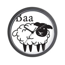 baa Wall Clock