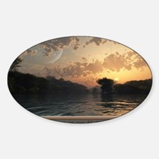 poster_summerevening_17x11 Decal