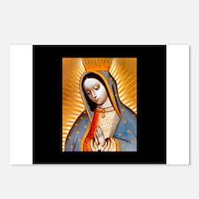 Virgen de Guadalupe - Patrone Postcards (Package o