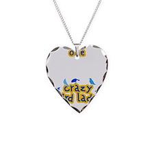 blackcrazyBIRDLady Necklace Heart Charm