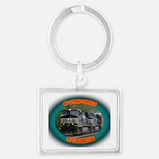 ns_vehicle_tee Landscape Keychain