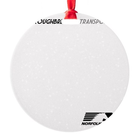 tbred-light Round Ornament