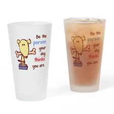 whitebetheperson Drinking Glass