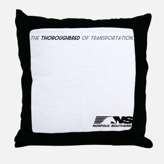 tbred-light Throw Pillow