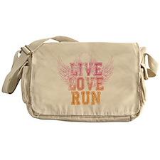 live love run Messenger Bag