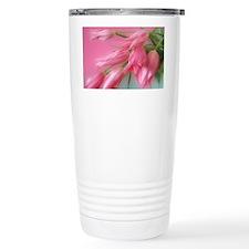 Gorgeous Pink Tulips Travel Coffee Mug
