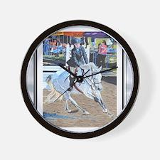 determination donovan Framed 2 Wall Clock