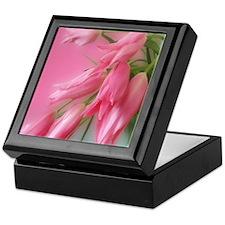 Gorgeous Pink Tulips Keepsake Box