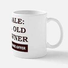 For Sale 60 year old Birthday Mug