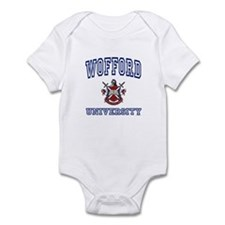 WOFFORD University Infant Bodysuit