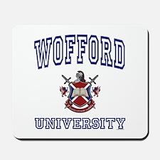 WOFFORD University Mousepad