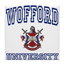 WOFFORD University Tile Coaster