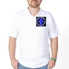 Dont worry _Fat chick_Sticker T-Shirt