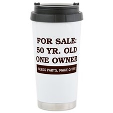 For Sale 50 year old Birthday Travel Mug