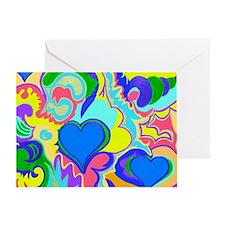 Fiji In My Heart Blue 10x8 Greeting Card