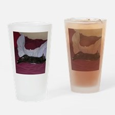 Miss Calico-M Drinking Glass