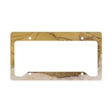 Curled Paws-M License Plate Holder