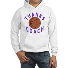 Thank You Basketball Coach Gifts Jumper Hoody