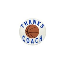 Thank You Basketball Coach Gifts Mini Button