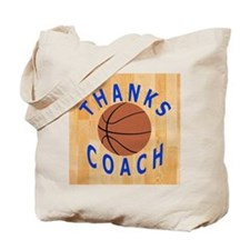 Basketball Coach Thank You Gifts Tote Bag