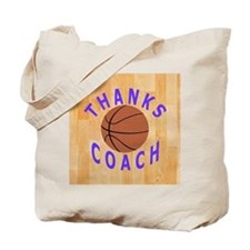 Basketball Coach Thank You Gift Magnet Tote Bag