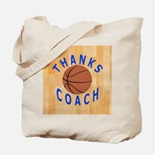 Thank You Basketball Coach Gift Magnets Tote Bag
