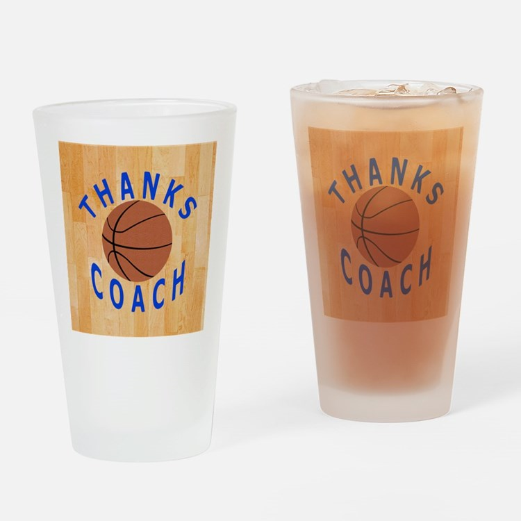 Thank You Basketball Coach Gift Mag Drinking Glass