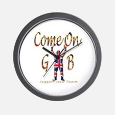 Come on GB Support your Team Wall Clock