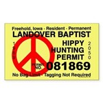 Hippy Hunting Permit