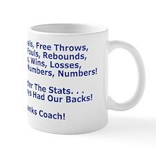 Thank You Our Basketball Coach Greeting Mug