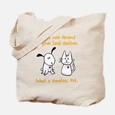 blackhomelessanimal Tote Bag