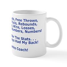 Thank You My Basketball Coach Greeting  Mug