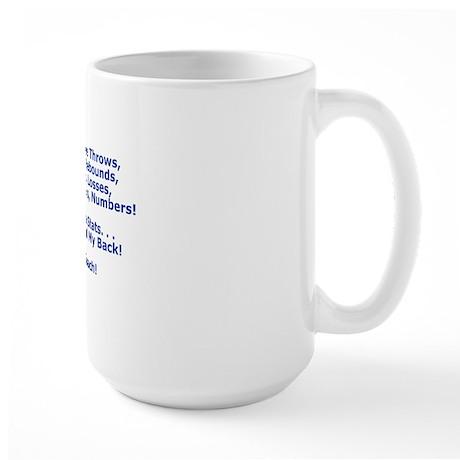 Thank You My Basketball Coach Greeting Large Mug