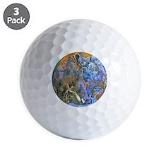 Serbian Lime Pit Golf Ball