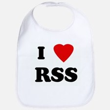 I Love RSS Bib