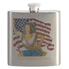 cafepresslatinaflag1010png Flask