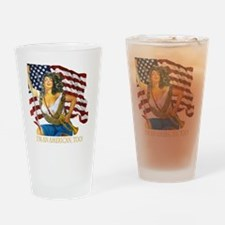 cafepresslatinaflag1010png Drinking Glass