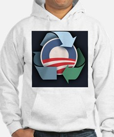 recycle-obama-BUT Hoodie