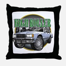 Donk_Caprice_Silver Throw Pillow