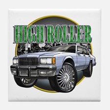 Donk_Caprice_Silver Tile Coaster