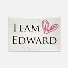 Team Edward Rectangle Magnet
