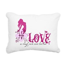 love Rectangular Canvas Pillow
